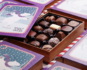 box of Purdys chocolates